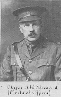 Major JW Shaw